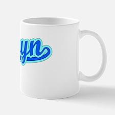 Retro Camryn (Blue) Mug