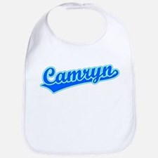 Retro Camryn (Blue) Bib