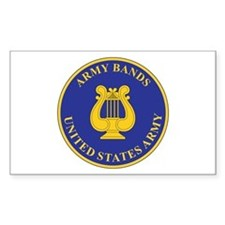 ARMY-BANDS Rectangle Decal