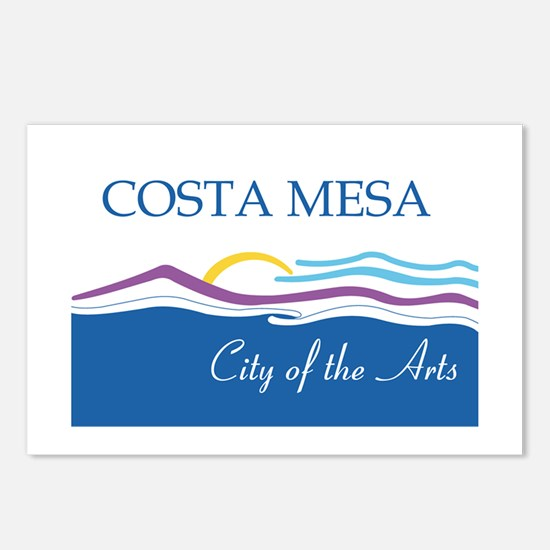 COSTA-MESA Postcards (Package of 8)