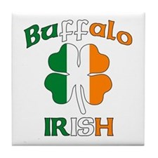 Buffalo Irish Tile Coaster