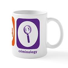 Eat Sleep Criminology Mug