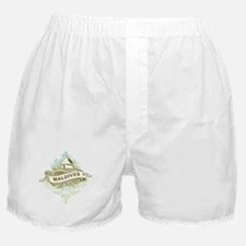 Mosque Maldives Boxer Shorts