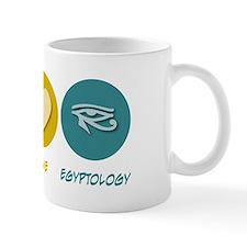 Peace Love Egyptology Mug