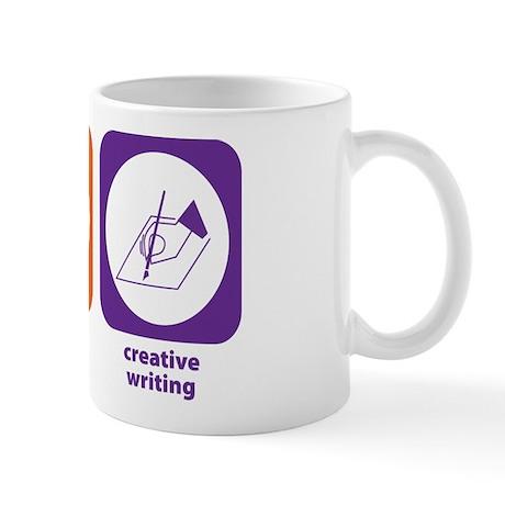 Eat Sleep Creative Writing Mug