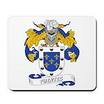 Fuentes Family Crest Mousepad