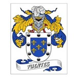 Fuentes Family Crest Small Poster