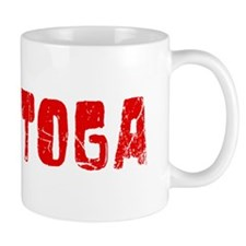 Saratoga Faded (Red) Mug