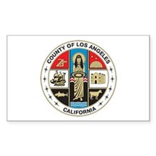 LOS-ANGELES-COUNTY-SEAL Rectangle Decal