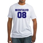 Montalvo 08 Fitted T-Shirt