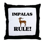 Impalas Rule! Throw Pillow