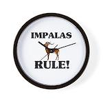Impalas Rule! Wall Clock