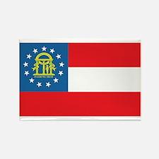 GEORGIA-FLAG Rectangle Magnet