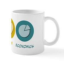 Peace Love Economics Mug