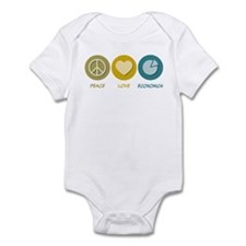 Peace Love Economics Infant Bodysuit