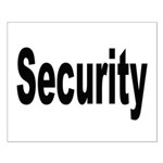 Security Small Poster