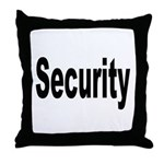 Security Throw Pillow