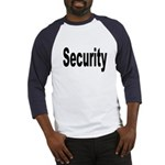 Security Baseball Jersey