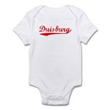 Vintage Duisburg (Red) Infant Bodysuit