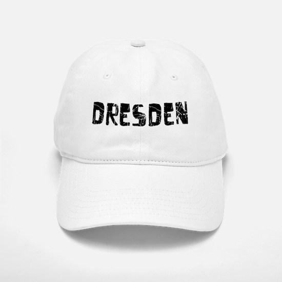 Dresden Faded (Black) Baseball Baseball Cap