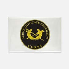 JUDGE-ADVOCATE-GENERAL Rectangle Magnet (10 pack)