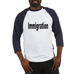 Immigration (Front) Baseball Jersey
