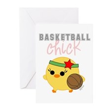 Basketball Chick Greeting Cards (Pk of 20)