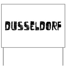 Dusseldorf Faded (Black) Yard Sign