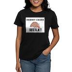 Hermit Crabs Rule! Women's Dark T-Shirt