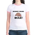 Hermit Crabs Rule! Jr. Ringer T-Shirt