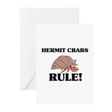 Hermit Crabs Rule! Greeting Cards (Pk of 10)