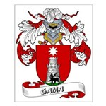 Gama Family Crest Small Poster