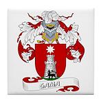 Gama Family Crest Tile Coaster