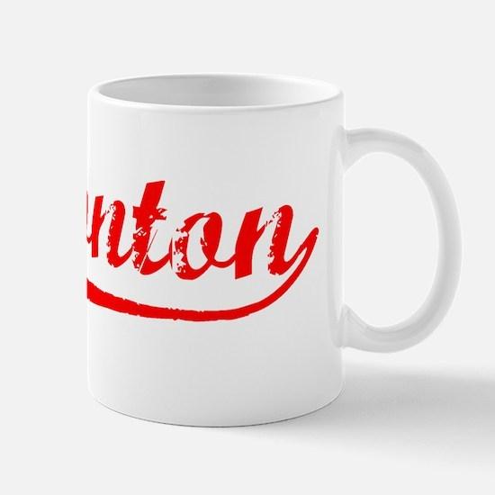 Vintage Edmonton (Red) Mug