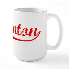 Vintage Edmonton (Red) Ceramic Mugs