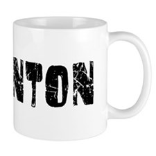 Edmonton Faded (Black) Small Mugs