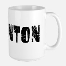 Edmonton Faded (Black) Ceramic Mugs