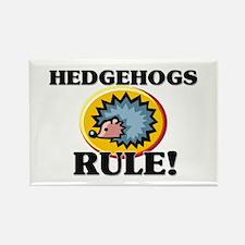 Hedgehogs Rule! Rectangle Magnet