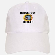 Hedgehogs Rule! Baseball Baseball Cap