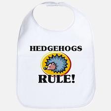Hedgehogs Rule! Bib