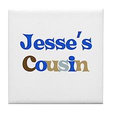 Jesse's Cousin Tile Coaster