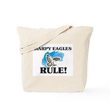 Harpy Eagles Rule! Tote Bag