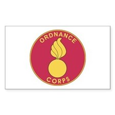 ORDNANCE-CORPS Rectangle Decal