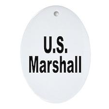 U.S. Marshall Keepsake (Oval)