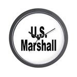 U.S. Marshall Wall Clock