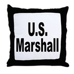 U.S. Marshall Throw Pillow