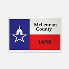 MCLENNAN-COUNTY Rectangle Magnet