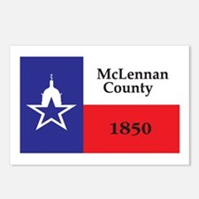 MCLENNAN-COUNTY Postcards (Package of 8)