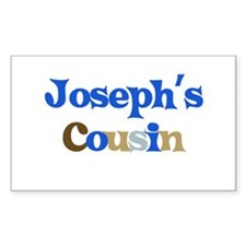 Joseph's Cousin Rectangle Decal