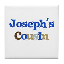 Joseph's Cousin Tile Coaster